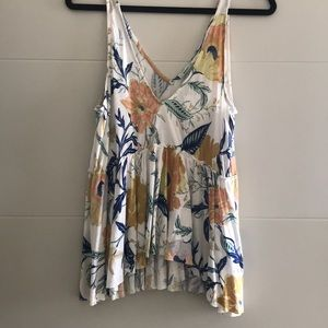 Urban Outfitters NWT floral tank